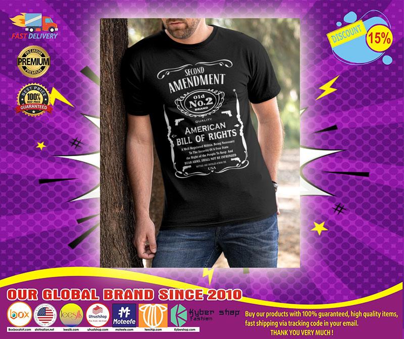 [LIMITED] Second Amendment 01d No.2 Brand Shirt