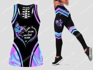 [Amazing owndesignshirt] suicide awareness no story should end too soon set sports outfit